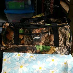 3 piece camo duffle bag set new no tags